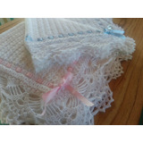 Mantillas Para Bebes, Tejidas Al Crochet! Manta