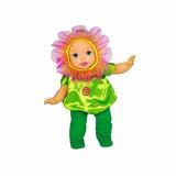 Muñeca Little Mommy Tierna Disfraz De Flor Fisher Price