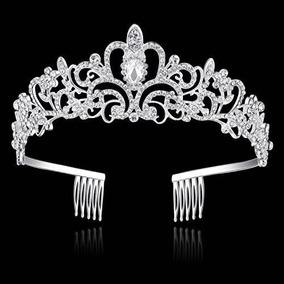 Babeyond Princesa Tiara Crown Con Peine De Cristal De La Bod