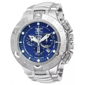 Relógio Fal20227 Invicta 12885 Prata Azul Ultimas Unidades