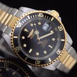 Reloj Automatico Invicta Pro Diver 8927ob Enchapado Oro 18k