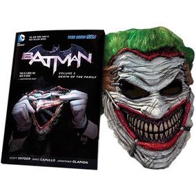 Batman Death Of The Family Com Máscara Do Coringa Joker