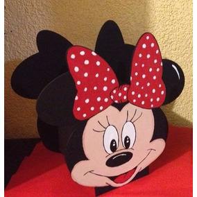 Centros De Mesa Para Fiestas De Minnie O Mimi Mouse (6 Pzas)