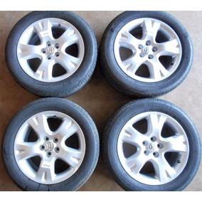 Jogo De Roda Aro 16 C/ Pneu Toyota Corolla 09 10 11 12 13 14
