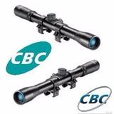 Luneta 4x20 Cbc Original+suporte 11 Mm Para Carabinas