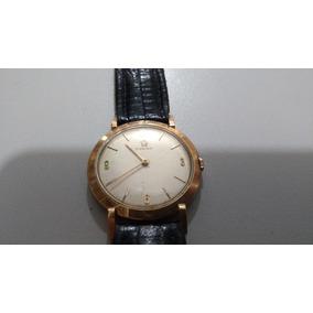 06f7139136d Raridade Relógio Omega Ouro Maciço Antigo Coleção