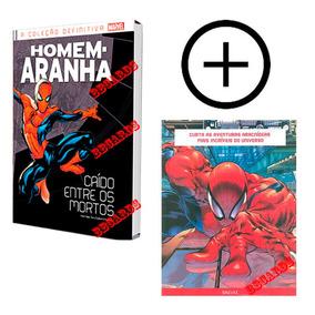 Hq Homem Aranha Coleção Definitiva Vol. 1 Salvat + Pôster
