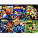 Crash Bandicoot Coleção (6 Jogos) Patch P/ Ps2 Desbloqueado