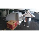 Coifa Industrial 100x50 1 Duto 1 Chapeu Ou 1 Curva 1 Pestana