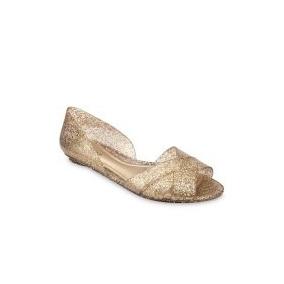 Sapatilha Petite Jolie Pj 1810 Glitter Ouro Promoção