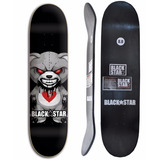 Shape De Skate Street Barato Black Star Ted 8.0