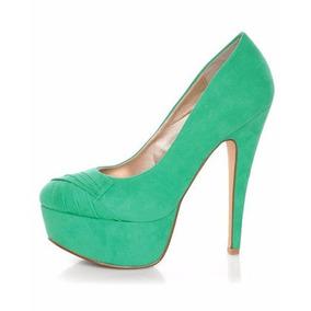 Zapatillas Importadas Qupid Modelo Penelope-47 Verde