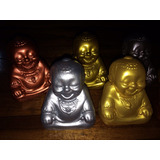 Baby Buda Feliz En Cerámica Feng Shui