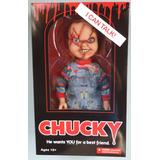 Chucky Mezco De 38cm Con Sonido