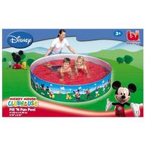 Pileta Rigida Mickey Mouse Club House Original