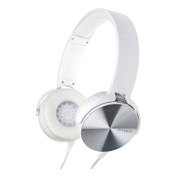 Auriculares Aiwa Vincha Metal Plegable Ava-101 Manos Libres