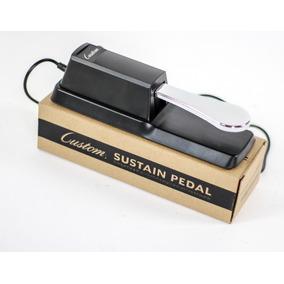 Pedal Sustain Custom P/ Korg Yamaha Roland Kurzweil Cassio