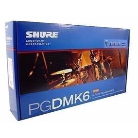 Kit Microfones Para Bateria Pgd Mk6 - Case Pg 81 56 E 52