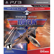 Jogo Ps3 Top Gun Video Game Wingman Edition Original