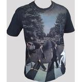 Camiseta Premium The Beatles Abbey Road.