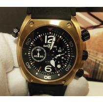Relógio Modelo Bell & Ross Br02 Chronografo De Colecionador