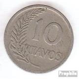 Ocasion Se Vende Monedas Del Peru 5-10-20 Centavos Plateadas