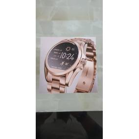 Michael Kors Smartwatch Oro Rosado Original Bradshaw Rosa Mk