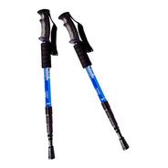 Baston De Trekking Plegable Aluminio 65 A 135cm X 2 Unidades