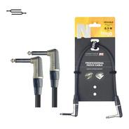 Cable Interpedal Profesional Neutrik 30 Cm Stagg Npc030lr