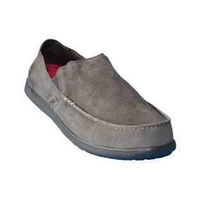 Nuevo Mocasin Zapato Nautico Crocs De Gamuza