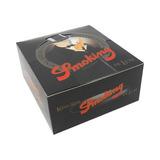 Seda Smoking Preta Masterking Size Atacado Caixa C/50
