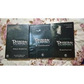 Livros Da Série Diários Do Vampiro