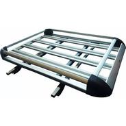 Combo Barras + Parrilla Porta Equipaje Aluminio Universal