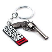 Llavero Con Dije Red Dead Redemption 2 Revolver Rdr2