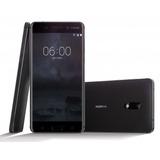 Smartphone Nokia Lumia 6 Ta-1000 Android 64gb 16mp 4gb Preto