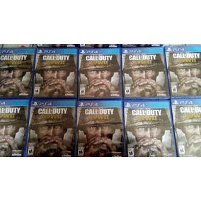 Call Of Duty Wwii Ww2 Ps4 Español Fisicos Nuevos Y Sellados