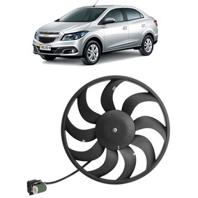 Motor + Ventoinha Radiador Chevrolet Onix Cobalt Spin Prisma