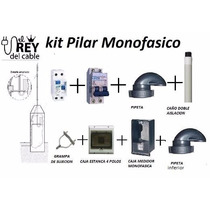 Kit Pilar Bajada Monofasico Edenor/edesu Completo