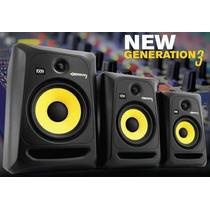Monitor Ativo Krk Rokit Rp6 G3 - Par/novo 110v E 220v P+e