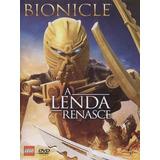 Dvd Bionicle A Lenda Renasce - Dublado - Novo - Lacrado