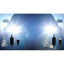 Par / Kit Lampadas Super Led H27 12v 30w 6200k Automotivas