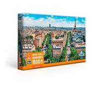 Quebra Cabeca Panoramico Belle Paris França 1500 Pçs Toyster