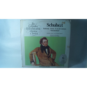 Lp Schubert Los Grandes Maestros De La Música Clásica Vol. 6