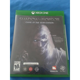 Shadow Of Mordor, Game Of The Year Xbox One