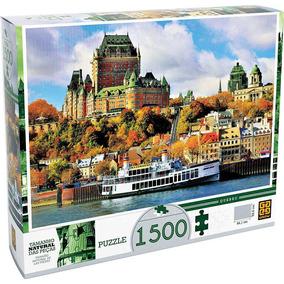 Quebra-cabeça 1500 Peças Quebec 03236 Grow
