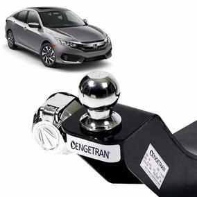 Reboque Engetran Civic 2017 Homologado Inmetro Kit Fixação