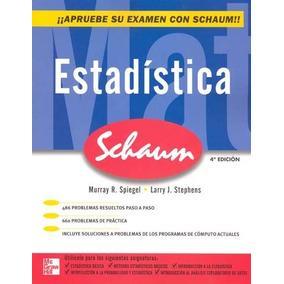 Libro Estadistica / Serie Scahum/ Mcgraw Hill