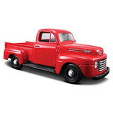 Maisto 1:25 Escala 1948 Ford F-1 Pickup Diecast Truck Vehícu