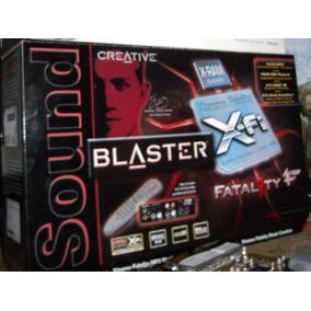 Tarjeta Sonido X-fi Fatality Pro Con Frontal Thx-dolby