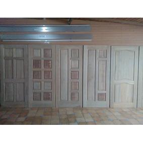 Puertas De Madera Apamate 100% Macizas